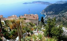 Sweeping Mediterranean views and tons of medieval charm have made Eze a popular stop on the French Riviera. (From: Photos: Beautiful Villages Around the World)