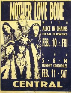 Mother Love Bone alice in chains