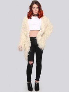 It's All Happening Fur Jacket - Gypsy Warrior
