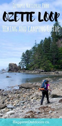 Your complete guide to hiking and camping the Ozette Loop in Olympic National Park in Washington, USA. Backpacking in Olympic National Park on the Ozette Triangle. Hike to Sand Point and Cape Alava. #ozette #olympicnationalpark #capealava #washington