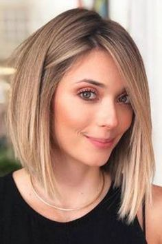 100 New Short Hairstyles for 2019 – Bobs and Pixie Haircuts, Today's article is all about 100 new short hairstyles for We all pretty sure that long hair is not the best option for each lady to be most fem…, Hairstyle Ideas Short Haircuts With Bangs, New Short Hairstyles, Easy Hairstyles, Straight Hairstyles, Pixie Haircuts, Hairstyle Ideas, Formal Hairstyles, Blonde Haircuts, Ladies Hairstyles
