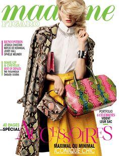 """""""Spécial accessoires"""", le Madame Figaro du 14 mars 2014"""