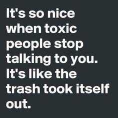 take out the trash