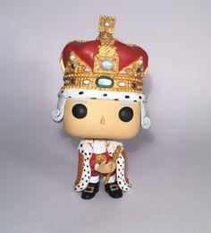 Custom King George III Hamilton Funko Pop by UKFunkoCustoms