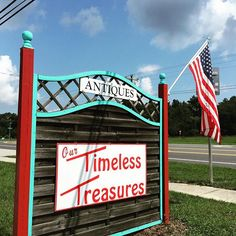 We are located at 7790 State Road in Keystone Heights FL 32656.  Our store hours are Tuesday thru Friday 10am-6pm.  Saturday 10am-5pm.  Phone: (352)473-2183.  Your FUN Store.  by ourtimelesstreasures
