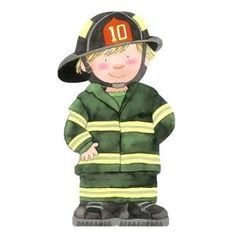 Fire Fighter (Mini People Shape Books) - Giovanni Caviezel, from Eliza Henry in Archbold, Ohio.