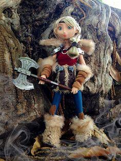 How to Train your Dragon Astrid doll   alexmadalton   Flickr
