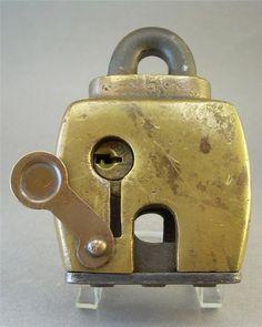 RestraintsBlog: Steel Brass Unmarked Lock Padlock Corbin Cylinder