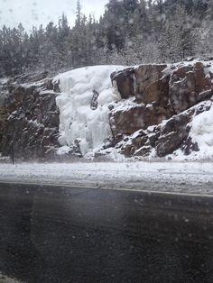 Snow fall Colorado