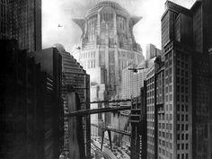 From Metropolis film, 1927