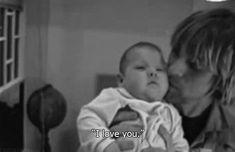 Kurt #Cobain and Frances Bean