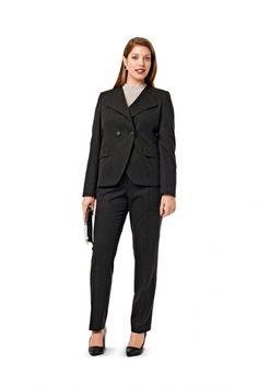 Burda 7010 Ensemble veste, jupe et pantalon, tailles 44 à 54