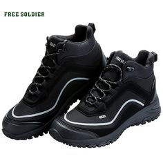 65747e753da Buy FREE SOLDIER outdoor sports tactical military shoes men boots  lightweight wear-resisting non-slip for camping hiking