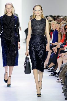 Can Jennifer Lawrence Find Her Oscars Dress on This Dior Runway?: Although Jennifer Lawrence wasn't in attendance, it's no surprise that she might be Christian Dior's biggest fan.
