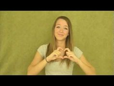 God Gave Me You (in ASL) and links to other ASL songs performed by allyballybabe