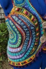 Afbeeldingsresultaat voor freeform crochet jacket