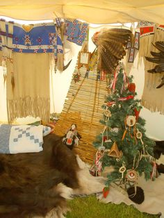 Tipi Christmas..... Weihnachten im Tipi...Merry Christmas wishes www.history-props.de