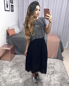"""4,195 curtidas, 33 comentários - JAQ JACOB⚡️MODEST STYLE (@jaqjacob) no Instagram: """"nóis ama um look BOHO...  Essa saia era uma saia longa. Essa semana me deu a louca e meti a…"""""""