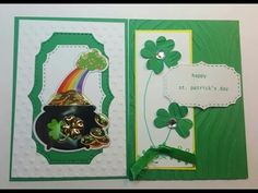 St Patrick's Pocket letter , Pockets  # 2 and # 3 Tutorial for Beginners