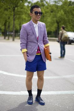 Colorful and preppy