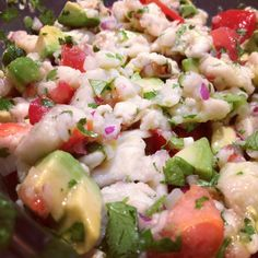 Tilapia and Shrimp Ceviche