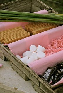 S'mores Bar....great idea for a summer party :  )