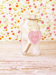 "message in a bottle...free label and ""love letter: template..."
