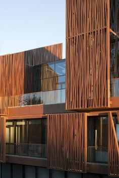 Selcuk Ecza Headquarters / Tabanlıoğlu Architects You are in the right place about facade logo Here we offer you the most beautiful pictures about the facade logo you are looking for. Architecture Design, Facade Design, Exterior Design, House Design, Building Skin, Building Facade, Building Design, Wood Facade, Metal Screen