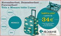 Air Dolomiti: Vola a Monaco tutto l'anno a partire da soli 34€ tutto incluso!