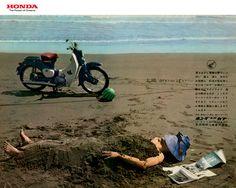 Planet Japan Blog: Vintage Japan Brochures: Honda Super Cub C100