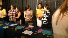 Promote internships with non-profit organizations at community engagement fair