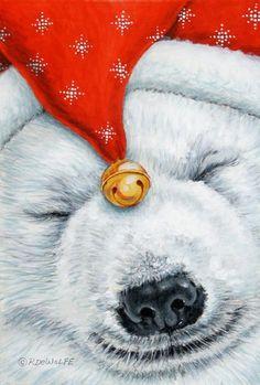 Snuggy Bear -by ©Richard De Wolfe