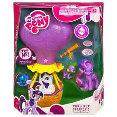 MLP Twinkling Balloon Twilight Sparkle Brushable Figure