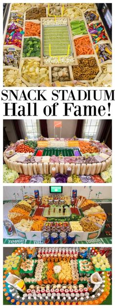 d1167917e27 Super Bowl Food! Snack Stadium Hall of Fame! Healthy Superbowl Snacks,  Quick Snacks