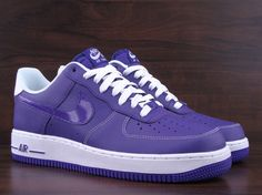 Nike Air Force 1 Low  Court Purple/White