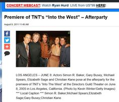 "Premiere of TNT's ""Into the West"" - Afterparty Into The West, Christian Kane, August 9, Evolution, Photo Galleries, Poses, Actors, Concert, Videos"