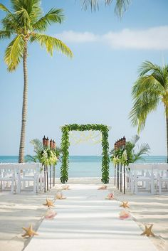Key West wedding Tropical wedding Say yes in Key West Once upon