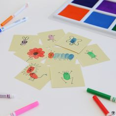 We're back to school and getting to know each other with colorful fingerprint art that shows how unique we all are.