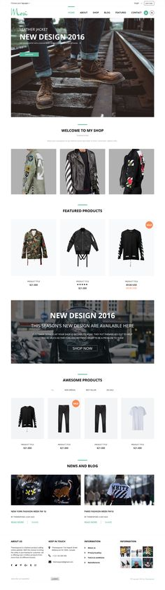 MOSI HTML Template is a modern, well crafted and responsive HTML template for anyone who wants to start their own fashion store. Coming with 4 Homepage styles, 5 blog list styles, well documented code, and a bunch of components, it is a great solution for shining your products in a special way. Especially, unique design will ensure that users can find exactly content what they is looking for.