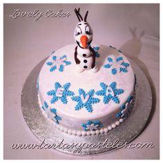 Tarta Olaf de Frozen