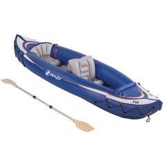 Sporting Goods: Sevylor Fiji Travel Pack Kayak (Blue,2-Person) - Buy New: $106.99