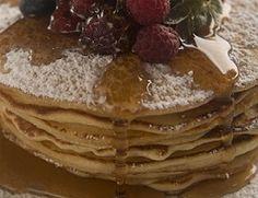 Receta de Panqueque con miel Pancakes, Breakfast, Food, Sweet Treats, Deserts, Cooking, Honey, Breakfast Cafe, Pancake