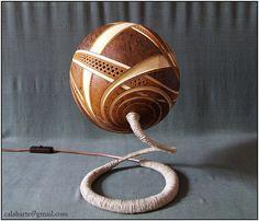 Table lamp IX – Spiral harmony | Flickr - Photo Sharing!