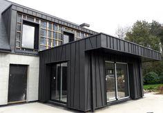 Container Design, Tiny House, Garage Doors, New Homes, Houses, House Design, Contemporary, Outdoor Decor, Home Decor