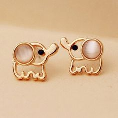 New White Gold Elephant Earrings Brand New & Comes Packaged! All orders will ship the same business day! Jewelry Earrings
