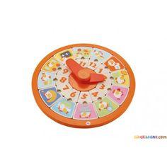 SEVI Orologio didattico - Giochi e giocattoli in legno