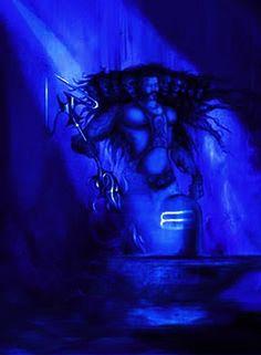 Flying chariots,cities of gold and flamboyant ways do not a leader make ! Rudra Shiva, Mahakal Shiva, Shiva Art, Hindu Art, Krishna, Lord Ganesha Paintings, Lord Shiva Painting, Angry Lord Shiva, Shiva Meditation