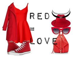 """""""red #1"""" by lallushka on Polyvore"""