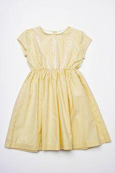 Pinstripe Annie Dress
