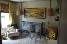 cool boy nursery | Sara Walker